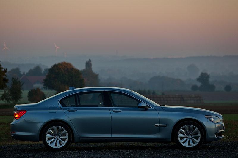 BMW ActiveHybrid 7: das Drehmoment des Antriebes liegt bei 700 Nm - 50 Nm mehr als im BMW 750i/Li