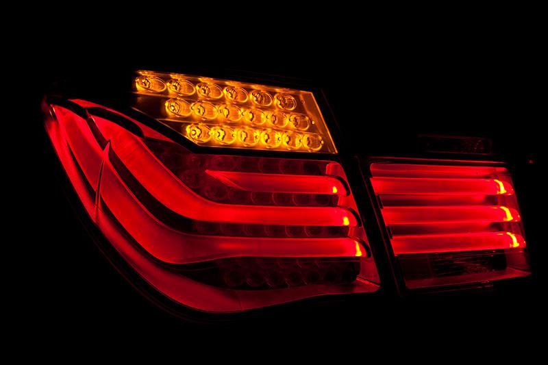 BMW ActiveHybrid 7: markantes Rücklichtdesign lässt den 7er sofort erkennen
