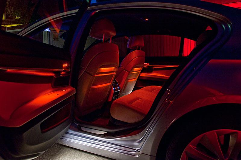 BMW ActiveHybrid 7: Ambientes Licht