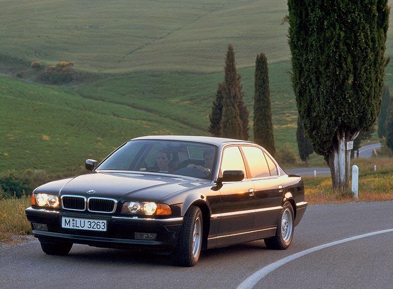 die dritte BMW 7er-Generation, das Modell E38