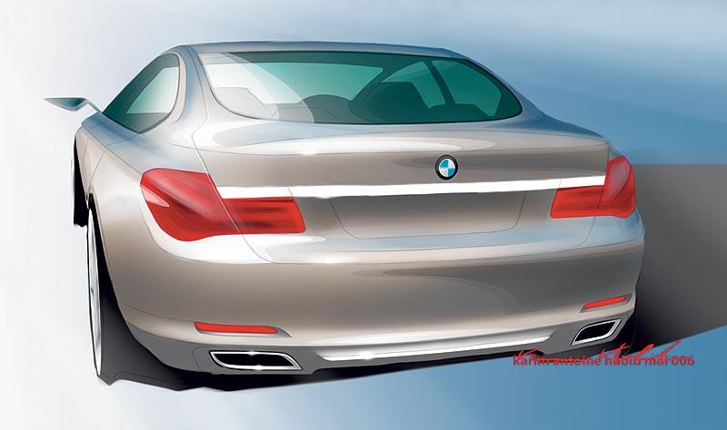 Die neue BMW 7er Reihe (Modell F01), Design Skizze, Karim Habib (Exterieur Design)