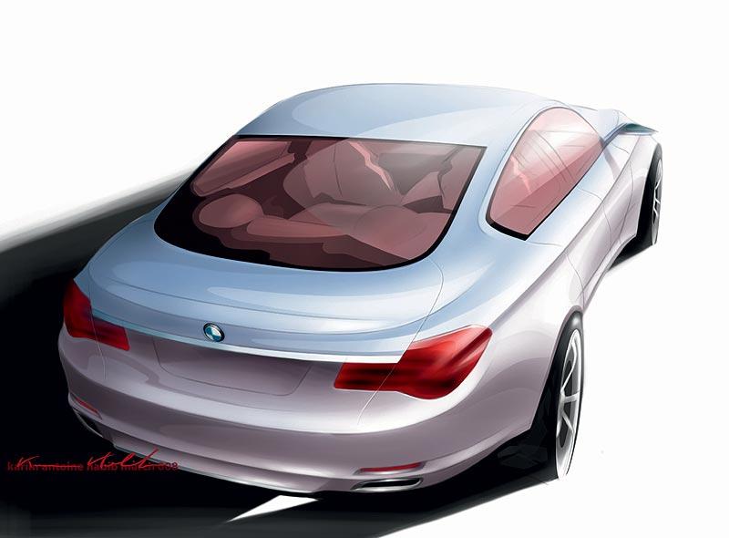 Die neue BMW 7er Reihe, Design Skizze, Karim Habib (Exterieur Design)