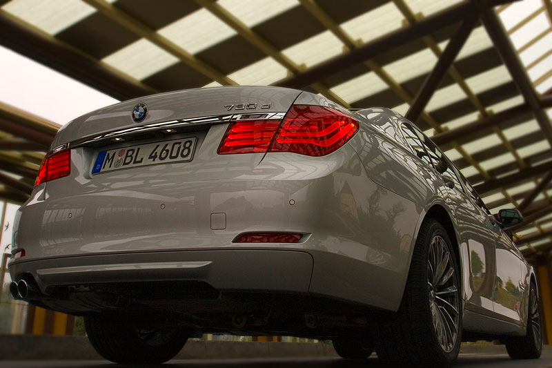 BMW 730d, Modell F01