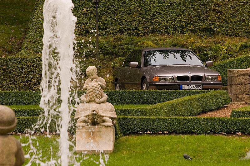 BMW 740i (E38), ehemaliger Neupreis: 105.500,- DM