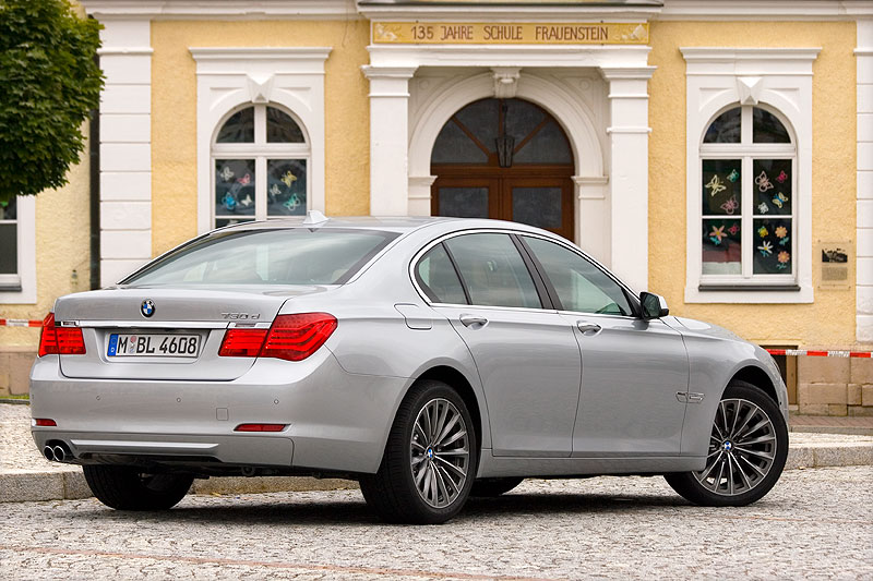 BMW 730d (F01) in Frauenstein, Erzgebirge