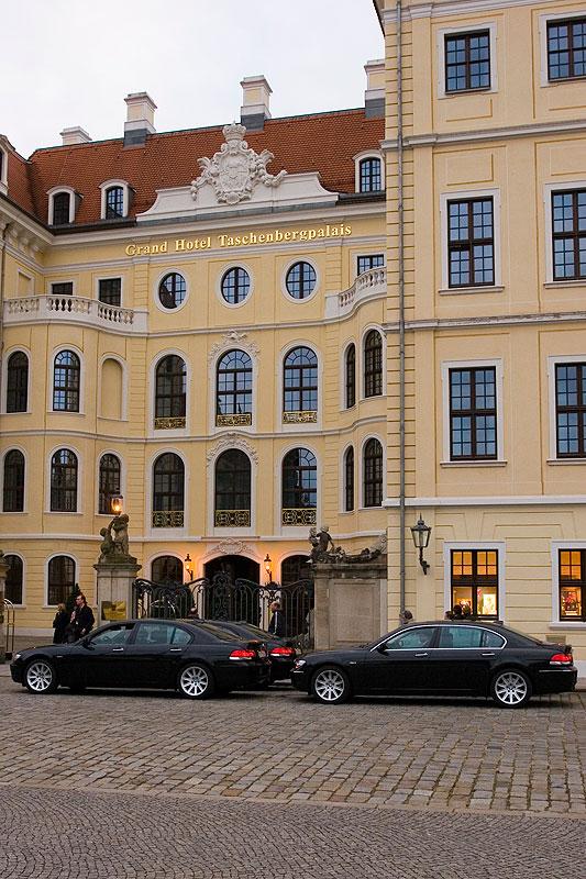 Grand Hotel Taschenbergpalais in Dresden