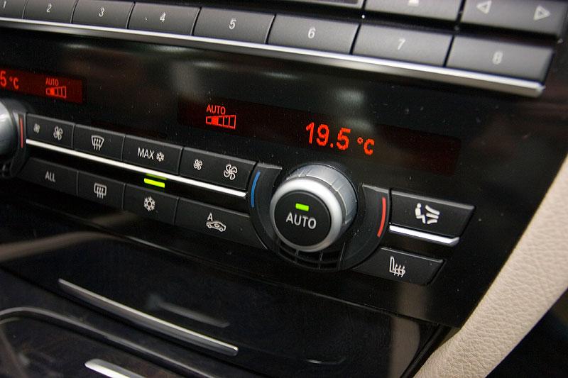 Klima-Anlage im BMW 750Li (F02)