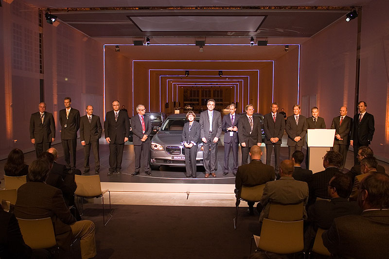 BMW Mitarbeiter, u. a. aus der Entwicklung standen für Fragen zur Verfügung