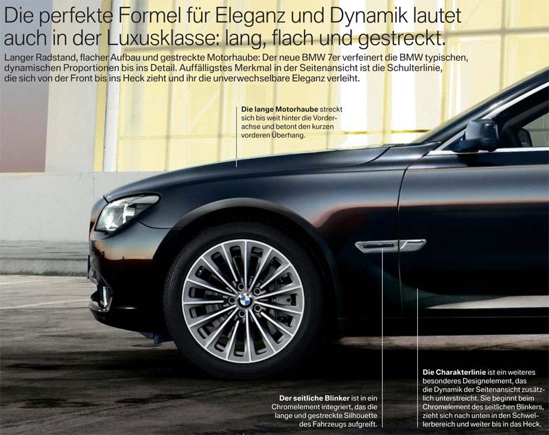 Die perfekte Formel für Eleganz und Dynamik lautet auch in der Luxusklasse: lang, flach und gestreckt - Teil 1