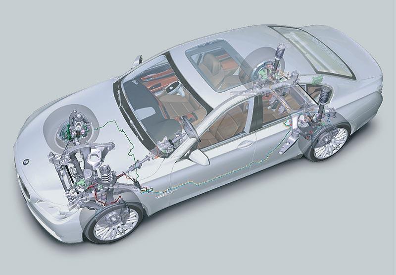 BMW 7er, Modell F01/F02, Fahrwerk
