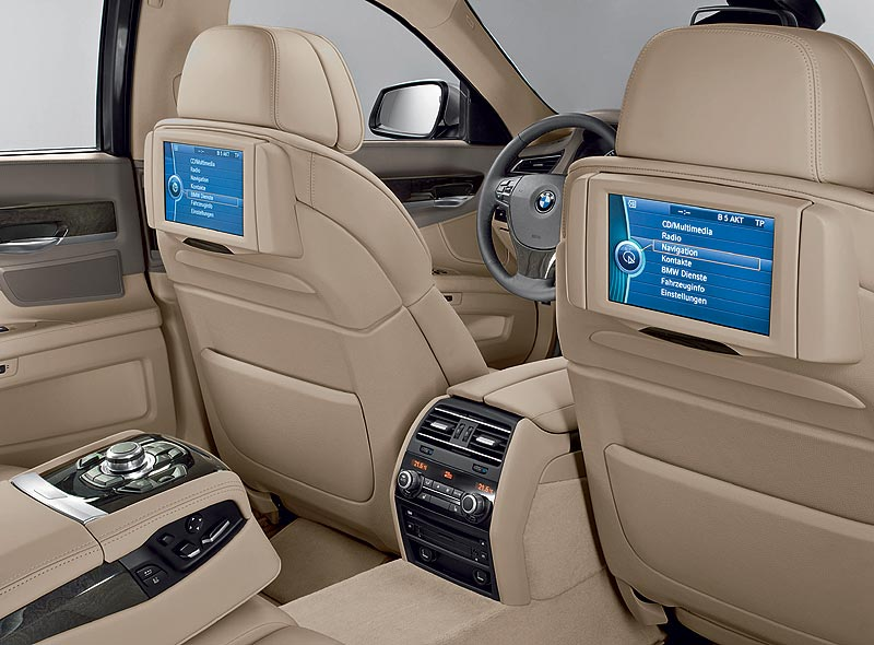 BMW 7er-Reihe, Fond Entertainment Professional
