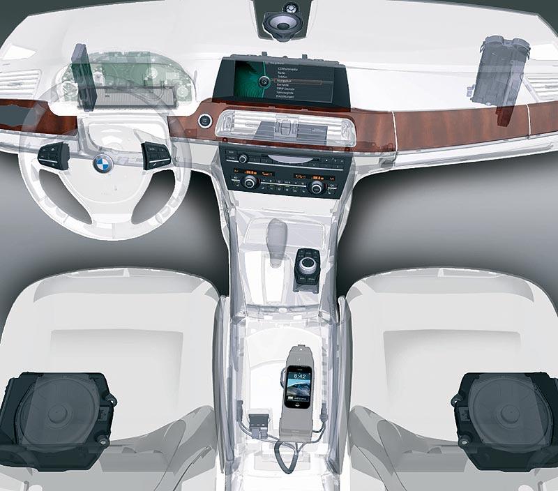 Infotainmentkomponenten im Fahrzeug