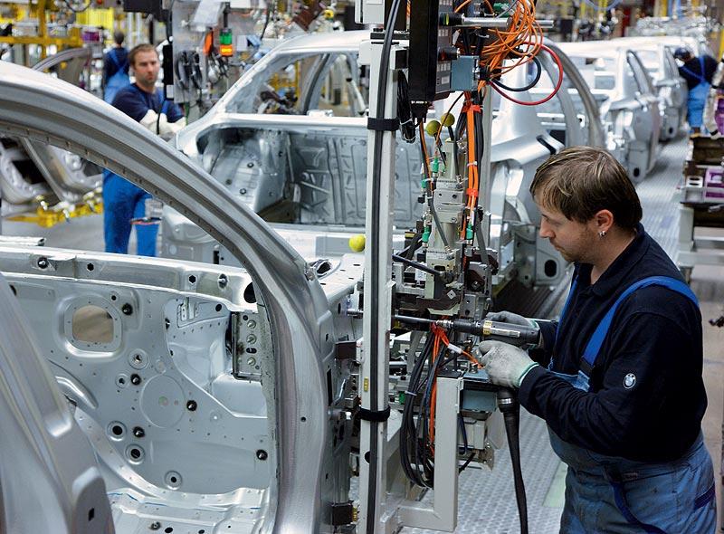 BMW Werk Dingolfing, BMW 7er Produktion, Karosseriebau