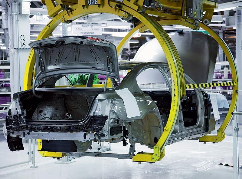 BMW Werk Dingolfing, BMW 7er Produktion, Montage