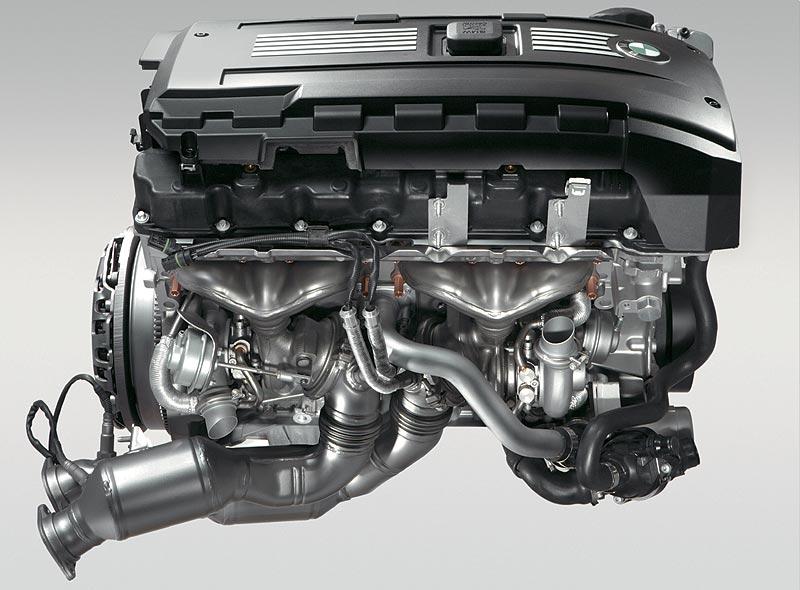 BMW 6-Zylinder-Ottomotor mit Twin-Turbo und High Precision Injection