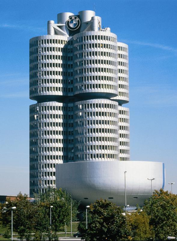 Foto Bmw Hochhaus Von Innen Vergr 246 223 Ert