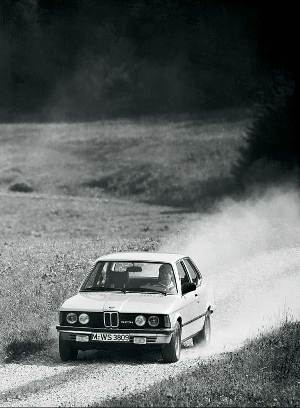 BMW 323i mit 6-Zylinder-Motor aus dem Jahr 1979