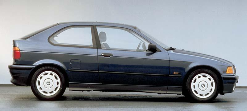 der erste BMW 3er Compact im Jahr 1993