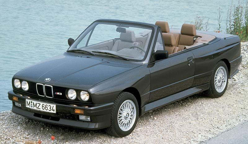 BMW M3 Cabrio aus dem Jahr 1987