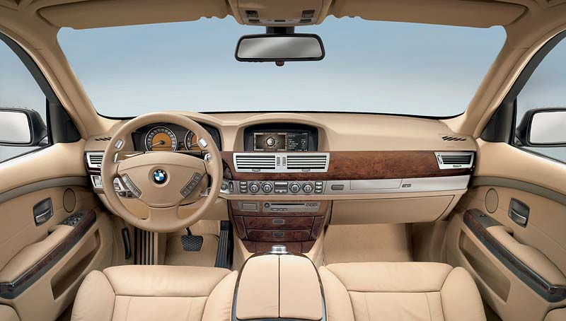 BMW 7er, Modell 2005: Interieur