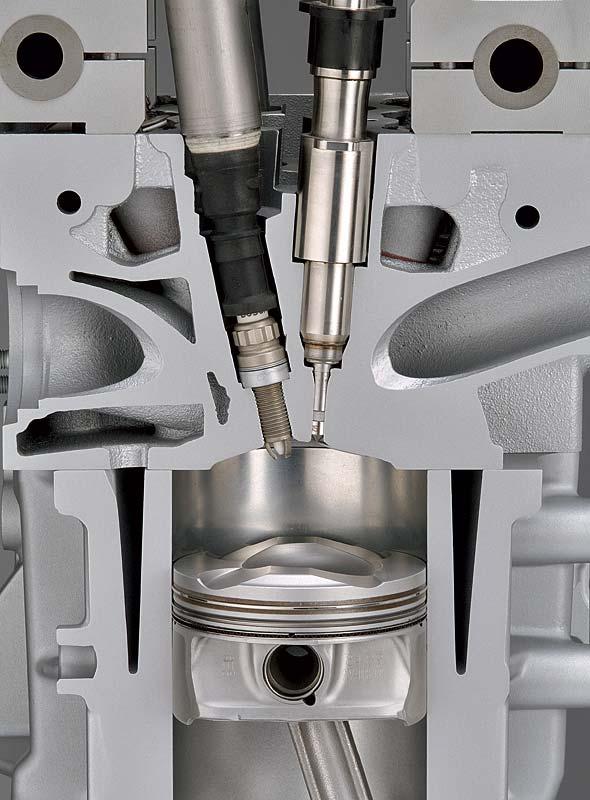 """BMW strahlgeführte Mager-Direkteinspritzung """"High Precision Injection"""""""