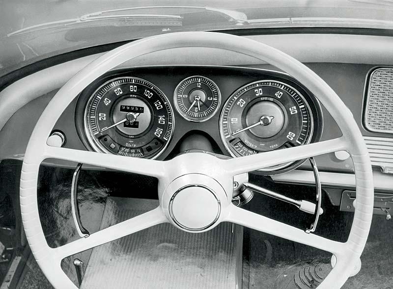 BMW 507, Cockpit