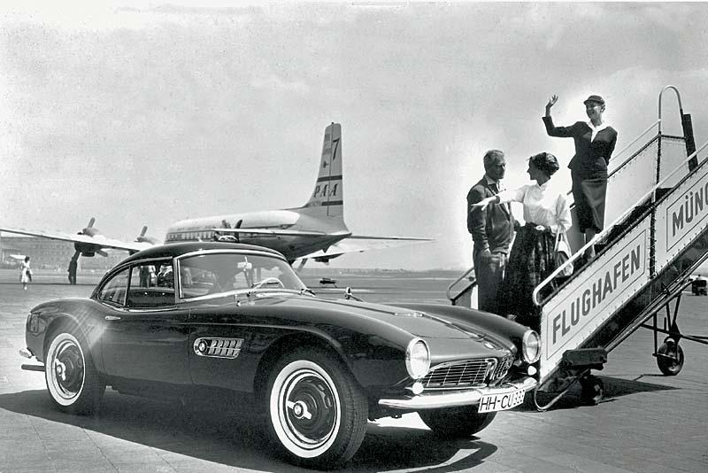 BMW 507 mit Hardtop