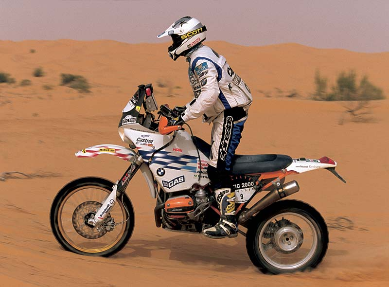 foto rallye paris dakar kairo 2000 bmw motorrad team gauloises richard sainct vergr ert. Black Bedroom Furniture Sets. Home Design Ideas