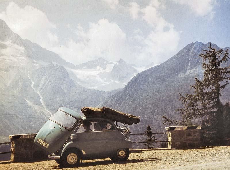 BMW Isetta Export, Felbertauern 1958