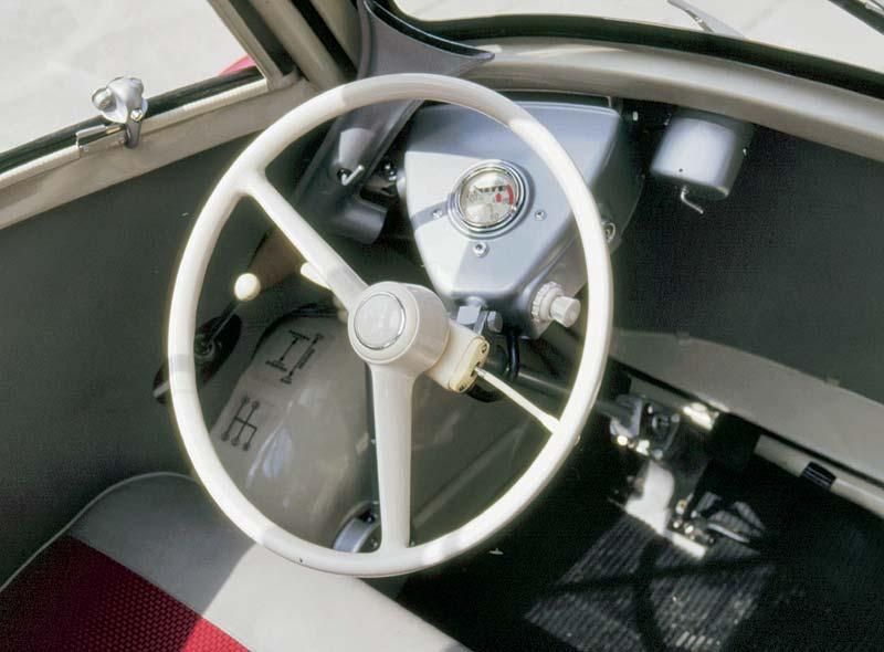 BMW Isetta Export Cockpit