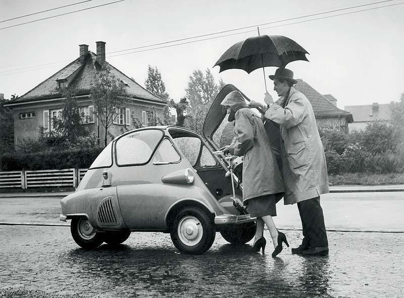 BMW Isetta - das Dach über dem Kopf