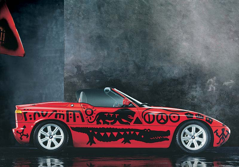 A.R. Penck, Art Car 1991 - BMW Z1
