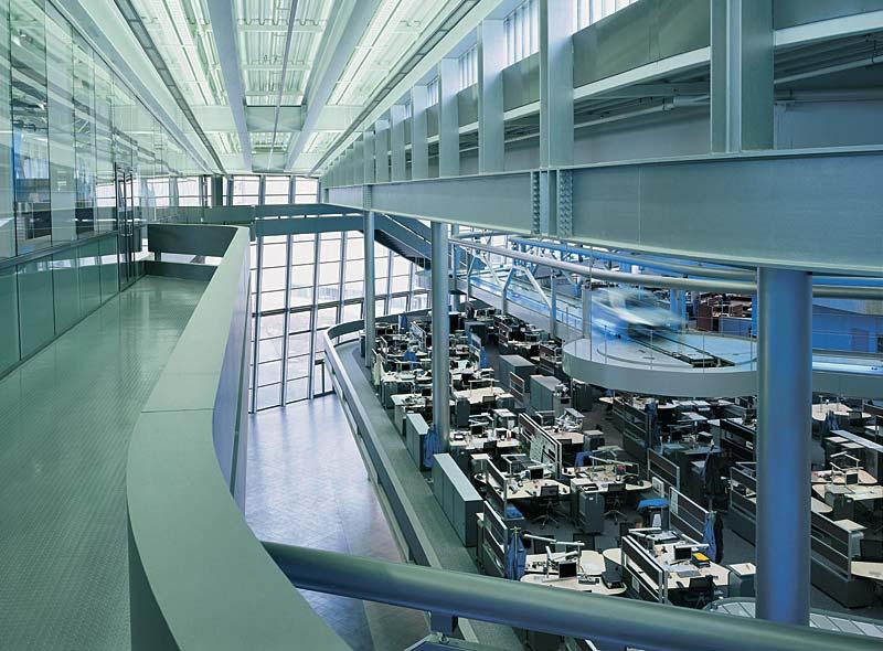 BMW Werk Leipzig, Zentralgebäude: Produktion BMW 3er Reihe