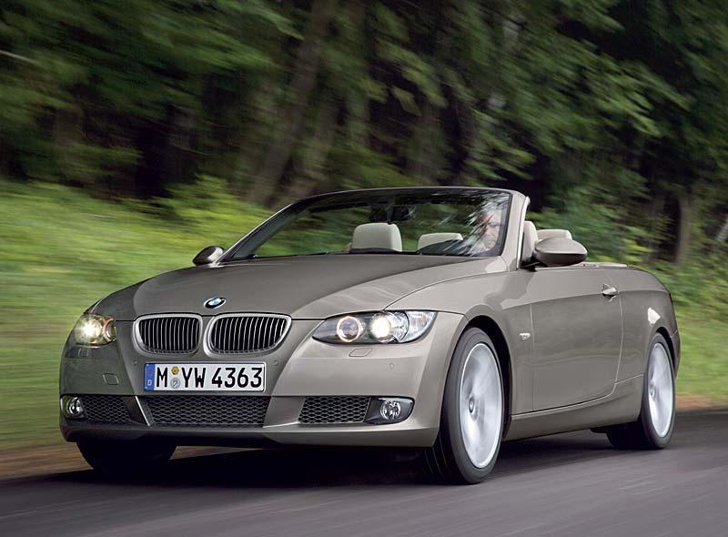 jetzt auch mit 4-Zylinder Diesel-Motor: das BMW 3er Cabrio