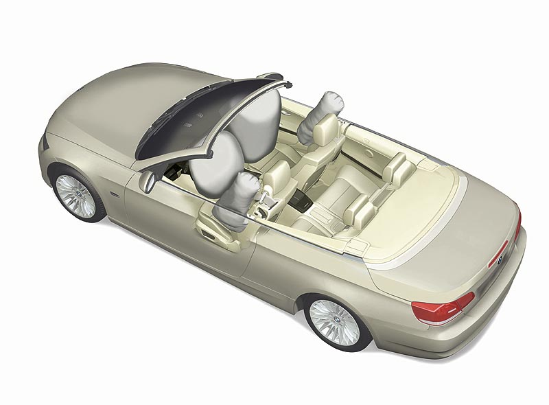 Airbags im BMW 3er Cabrio