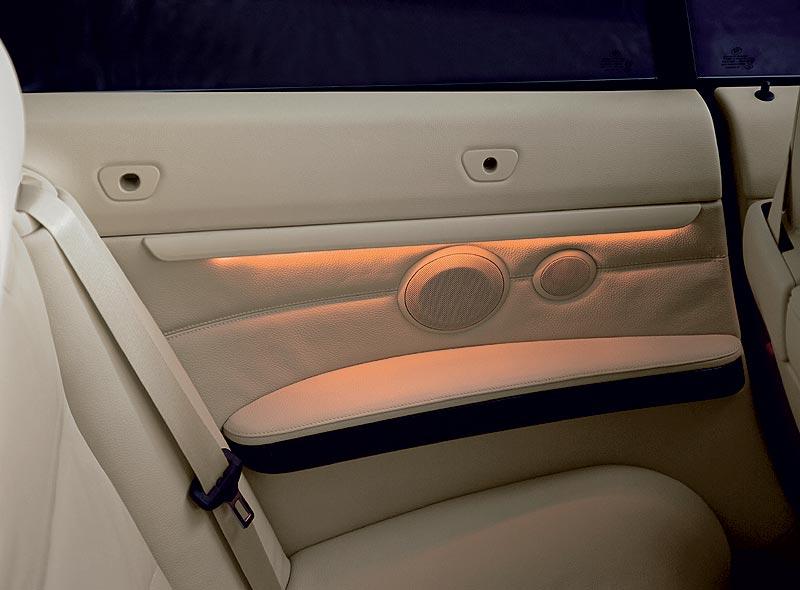 Neue ambiente Innenbeleuchtung im 3er Cabrio