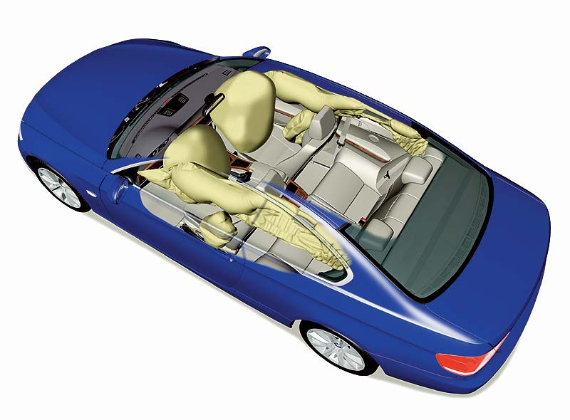 BMW 3er Coupé Airbags