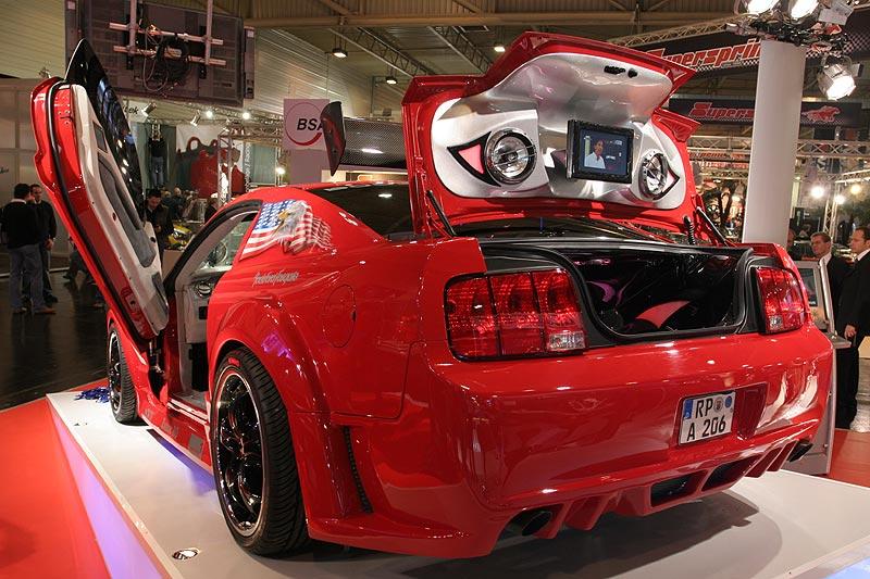 extrem getunter Mustang, Essen Motor Show 2006