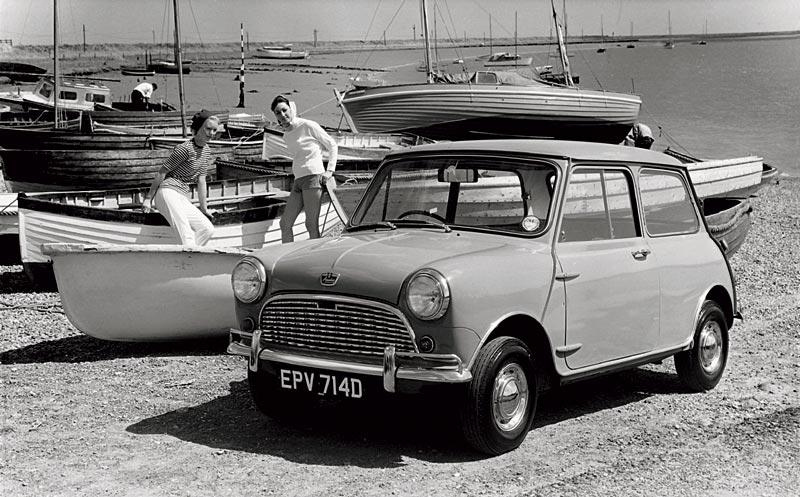 Austin Mini 850, Ausführung Super-de-Luxe, ab 1962 im Programm