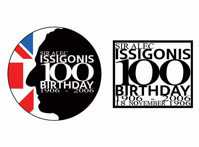 Logo zum 100. Geburtstag von Sir Alec Issigonis - entworfen vom MINI Design Team
