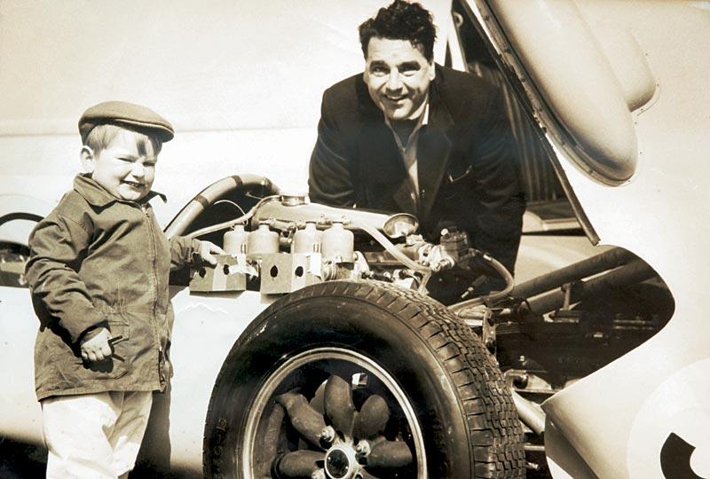 Mike Cooper und sein Vater John Cooper