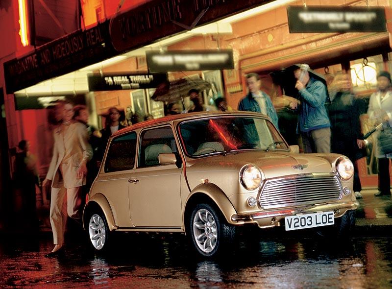"""Mini Knightsbridge: Eines von vier Modellen der """"Final Editions"""" des Classic Mini"""