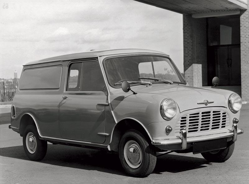 Morris Mini-Van aus den sechziger Jahren