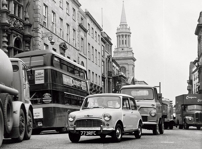 Morris Mini-Minor Super-de-Luxe, 1963