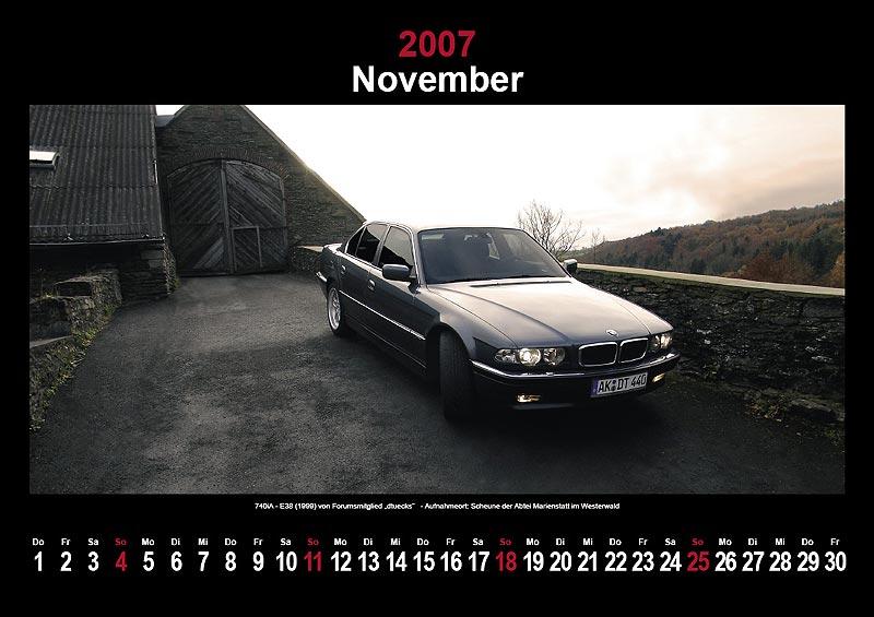 7-forum.com Wandkalender 2007: November