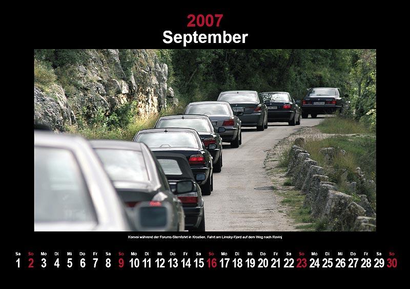 7-forum.com Wandkalender 2007: September