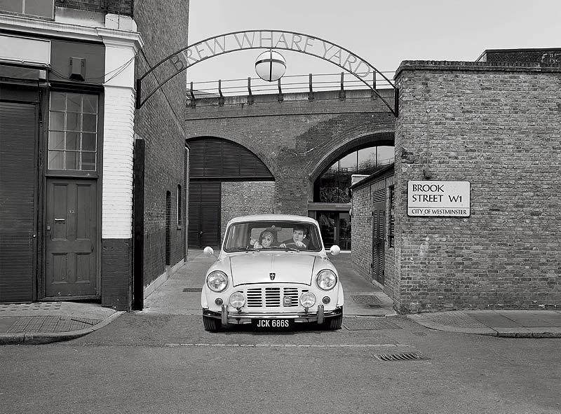 Auf MINI Spurensuche: quer durch London bis zum Mini-Werk, Cowley, Oxford