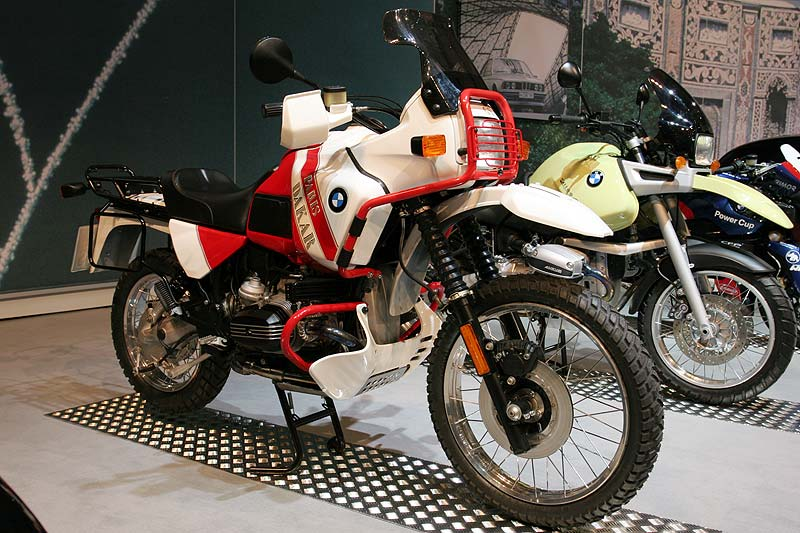 foto bmw r 100 gs paris dakar aus dem jahr 1989 st ckzahl preis dm vergr ert. Black Bedroom Furniture Sets. Home Design Ideas
