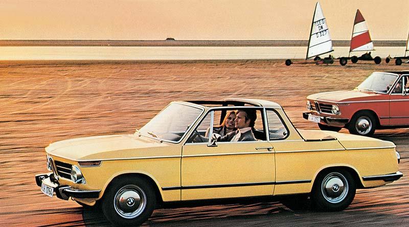 Lifestyle der 60iger Jahre: BMW 2002 Cabriolet (Baur)