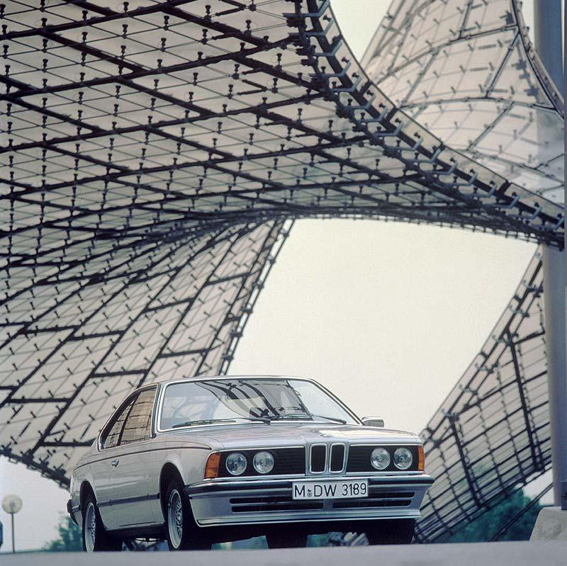 BMW 635CSi, erste BMW 6er-Reihe (Modell E24)